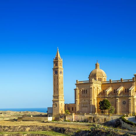 The Basilica of the National Shrine of the Blessed Virgin of Ta' Pinu