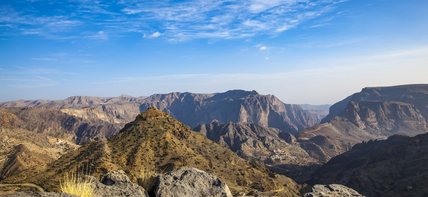 Jabal akhdar mountains