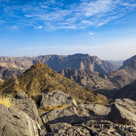 Jabal akhdar mountains