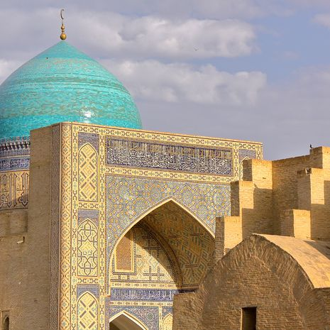 Mir-i Arab Madrasa in Bukhara