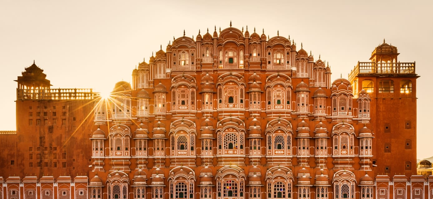 Hawa Mahal (Palace of the Winds) Jaipur