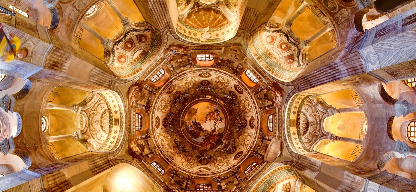 Ceiling, San Vitale Basilica, Ravenna, Italy