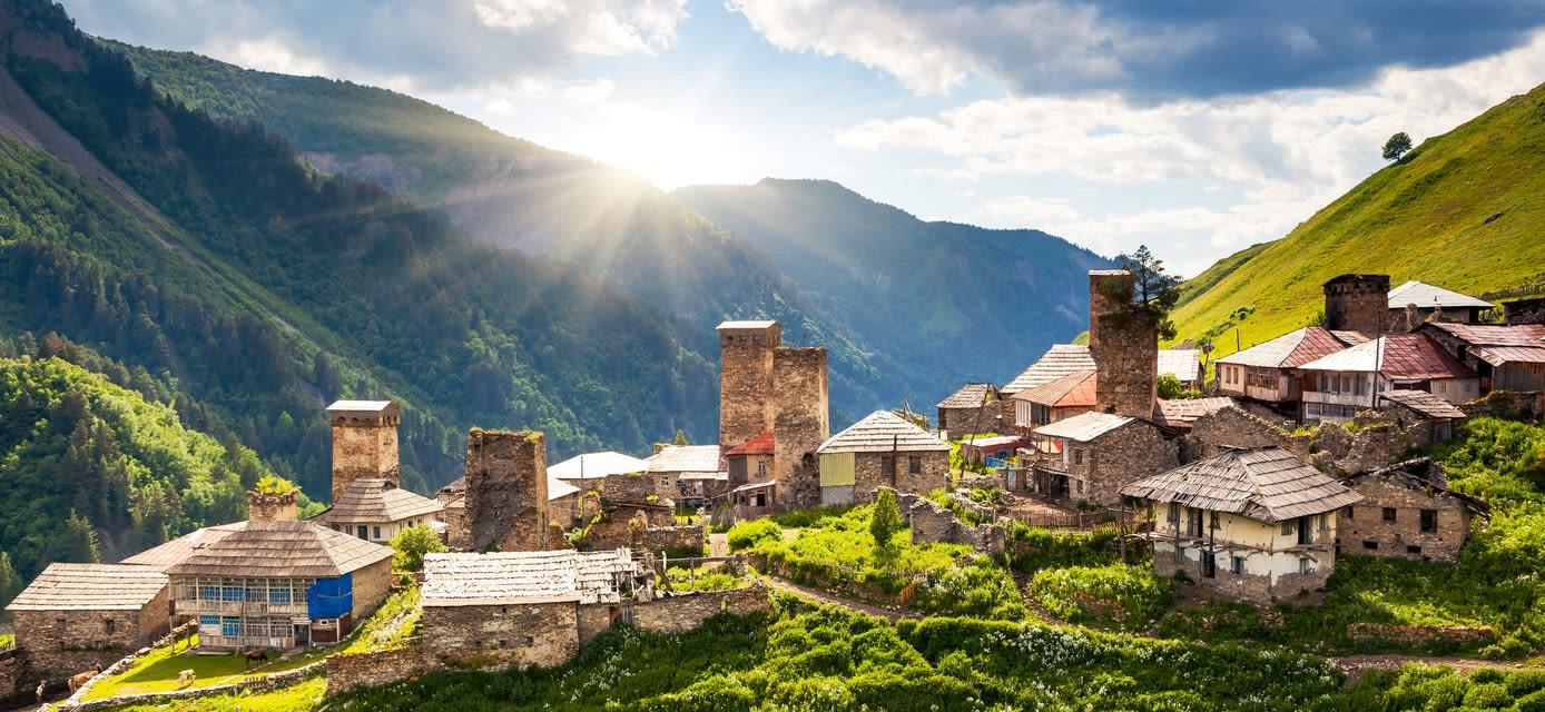 Upper Svaneti, Georgia