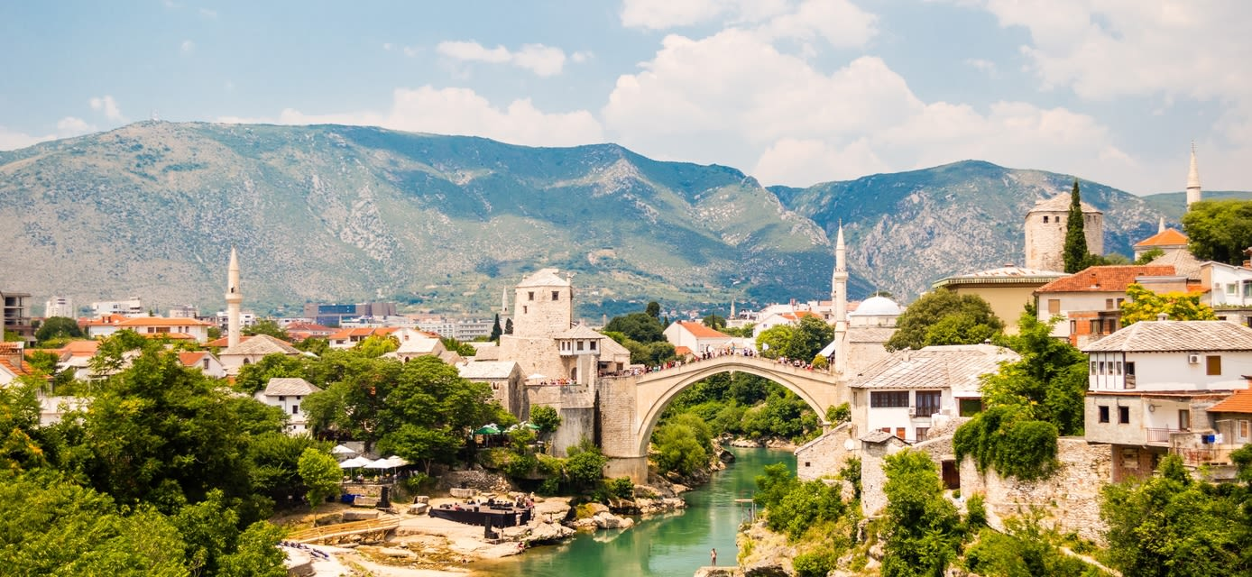 Mostar city, Bosnia and Herzegovina