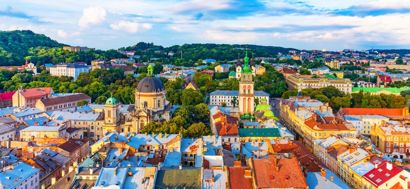 Old Town of Lviv, Ukraine