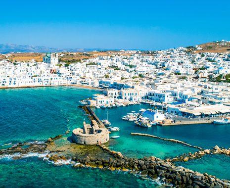 Naoussa town, Paros island, Greece