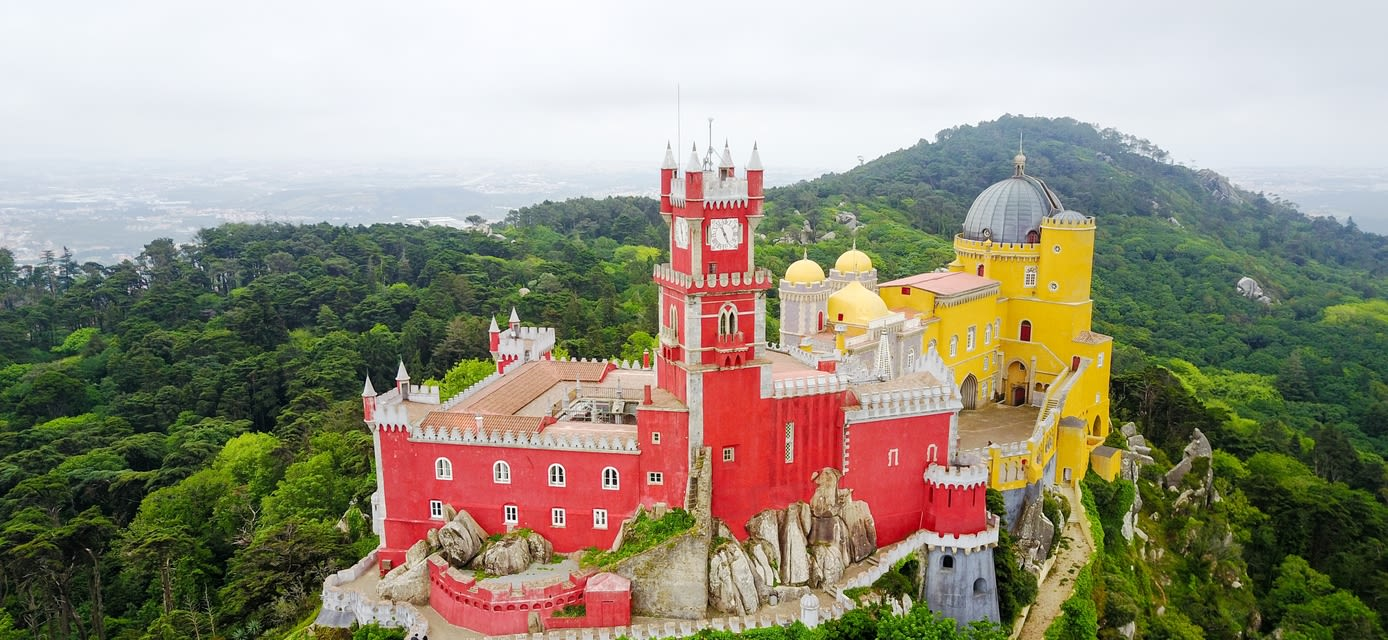 The Pena Palace, Sintra, Portugal