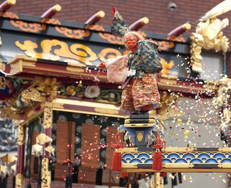 Takayama, Japan - Japanese marionette show