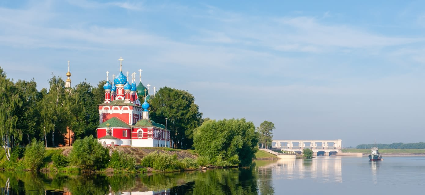 Uglich on the Volga Dream Cruise, Russia