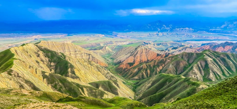 Fergana Mountain Range, Uzbekistan