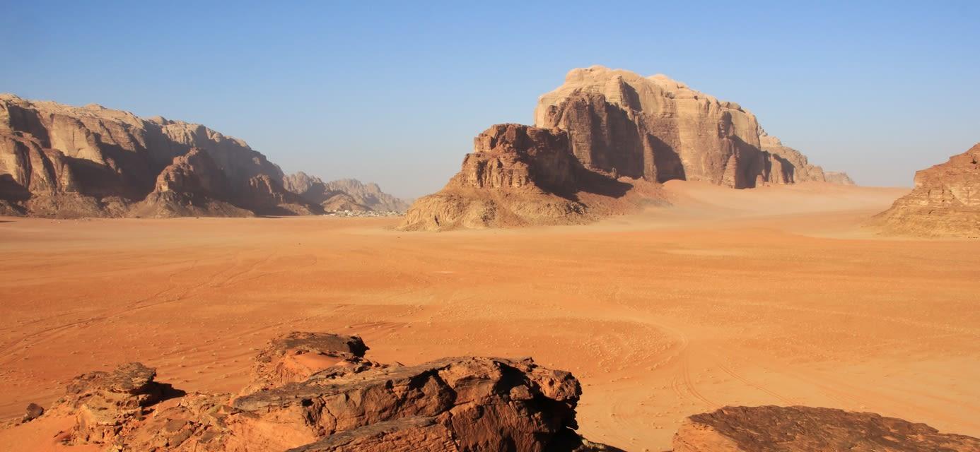 Wadi Rum valley, Jordan