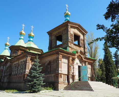 Orthodox Church of the Holy Trinity, Karakol, Kyrgyzstan