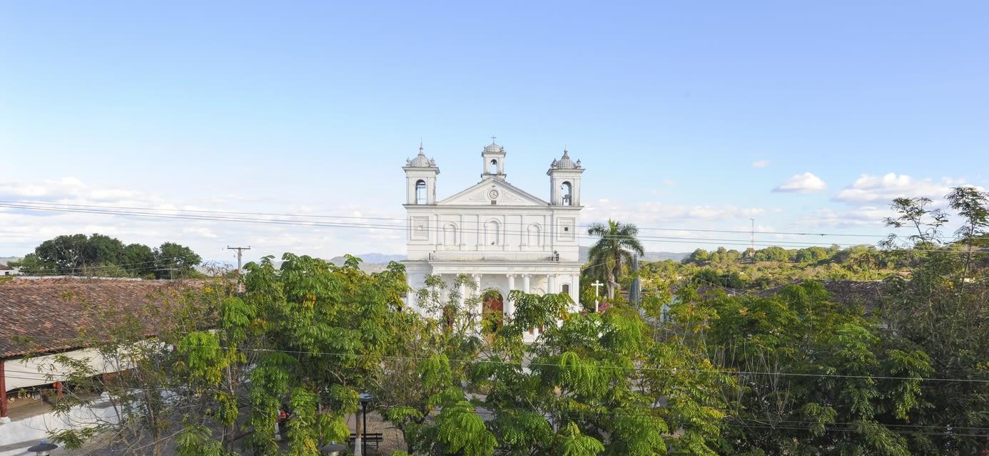Suchitoto cathedral, El Salvador