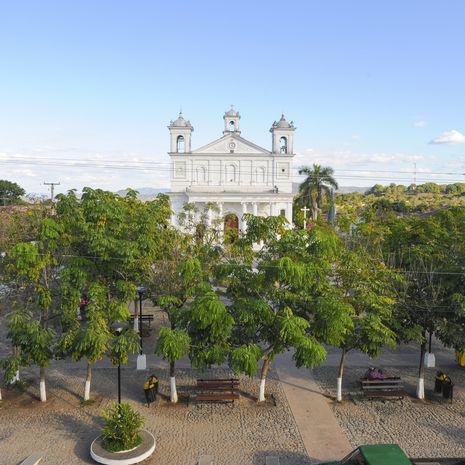 Suchitoto cathedral, El Salvador