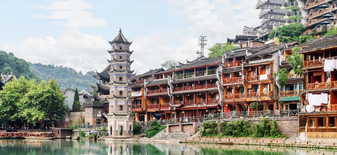 Wanming Pagoda in Fenghuang county, Hunan
