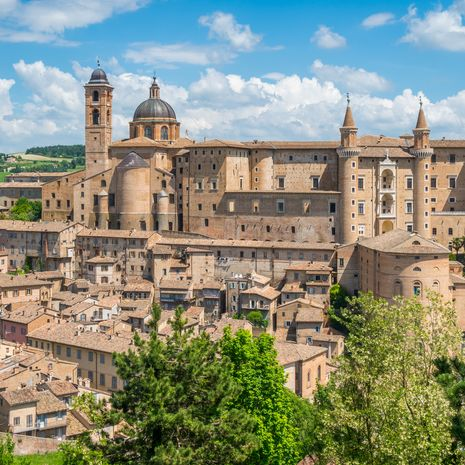 Urbino, Marche region, Italy