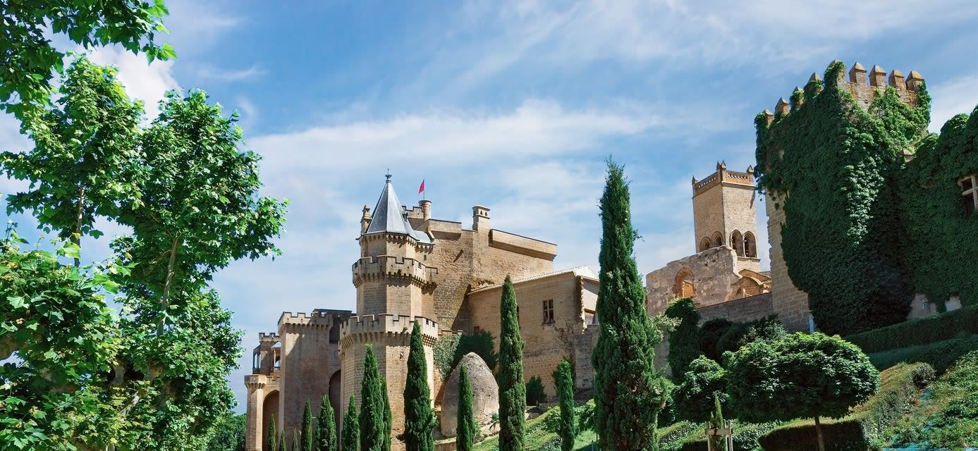 Castle Olite, Spain