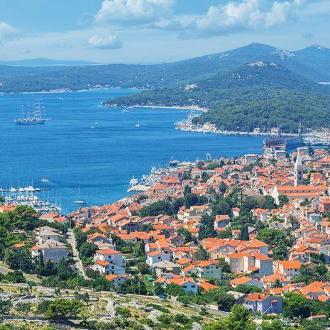 Mali Losinj town, Croatia