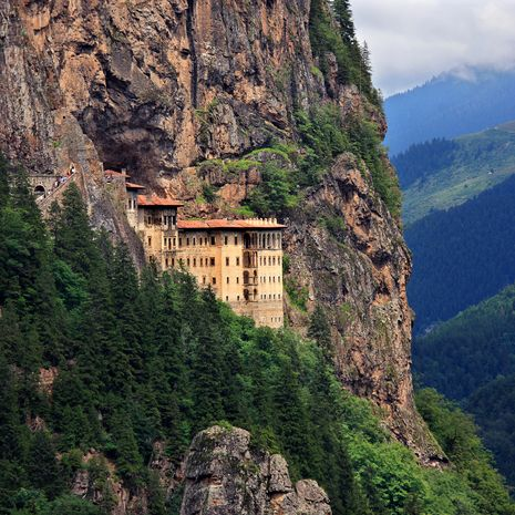 Sumela monastery, Altindere Valley, Trabzon, Turkey
