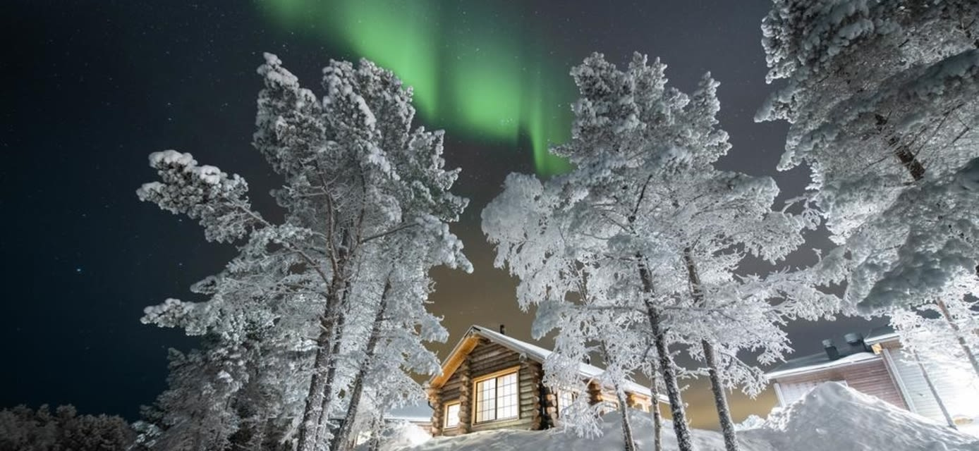 Northern lights, Inari, Finland