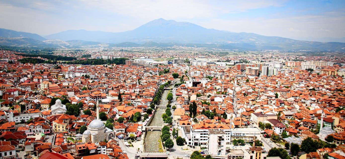 Cityscape, Prizren, Kosovo