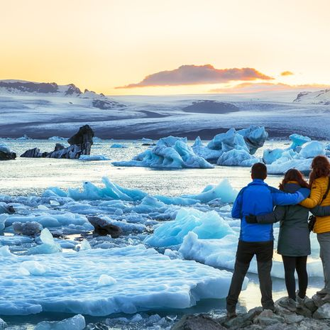 Jokulsarlon glacial lagoon, Vatnajokull National Park, Iceland