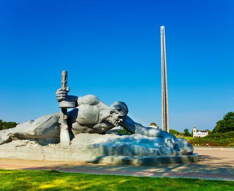 Thirst Monument, Brest Fortress, Brest, Belarus