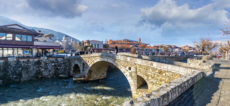 The Bridge over Bistrica River, Prizren, Kosovo