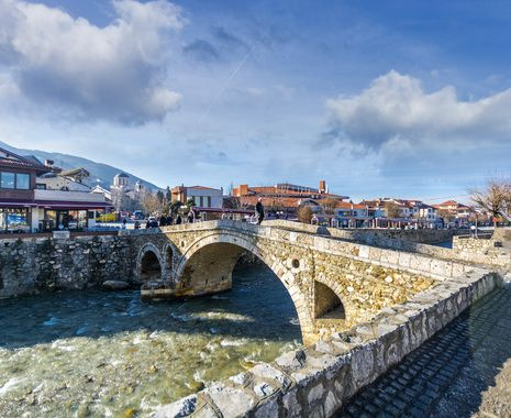 The Bridge over Bistrica River, Prizren, Kosovo