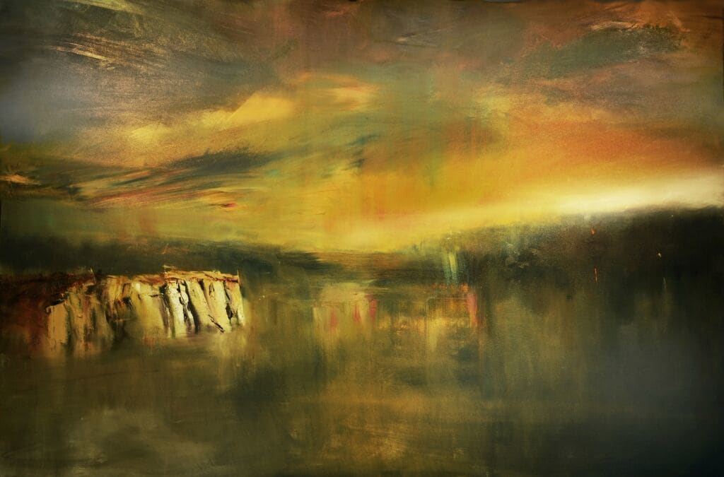 New Original Painting By Maurice Sapiro