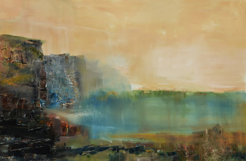 New Original Painting By Maurice Sapiro