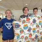 Darien Students Create Preemie Blankets For Danbury Hospital