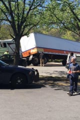 Overturned Truck Snarls Pleasantville Traffic