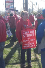Verizon Strike Will Delay Service Calls, Pickets Continue In Cortlandt