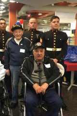 12th Honor Flight Of Veterans Leaves Westchester County Airport In Harrison
