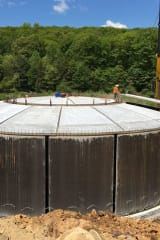 Eureka Water Tank In Danbury Nearly Completed For Bethel