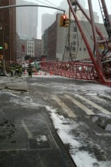 Crane Collapse In Manhattan Kills 1, Injures At Least 3