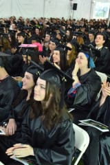 Humorist Mo Rocca Addresses Sarah Lawrence College Graduates