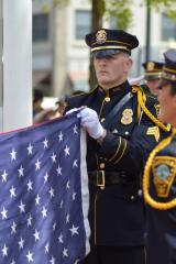 Greenwich Police Honor Memory Of Fallen Comrades At Memorial Service