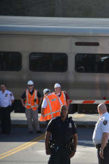 Driver, Passenger In Vehicle Escape Seconds Before Westchester Train Crash