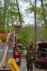 Mount Kisco FD Assists With Goldens Bridge House Blaze