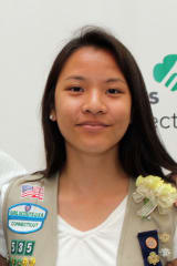Darien Girl Scout Earns Gold Award For Blogging About Senior Citizens' Work