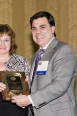 Margaret Black Awarded Fred Dayton Award In Tarrytown