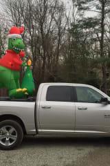 South Salem Neighbor Shares DinoClaus Tradition
