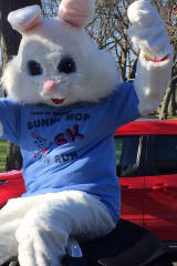 Hundreds Turn Out For Town's Second Annual Bunny Hop