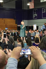 Westchester's Clinton Takes On Guns, Addiction, Wages During Area Rally