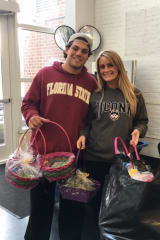 DiMatteo Group Plays Easter Bunny For Homeless Children In Stamford