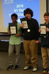 Three Irvington Middle School Students Named Top Chemists In The State