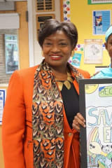 New Rochelle Student Wins Earth Day Poster Contest, Gets Visit from Senator