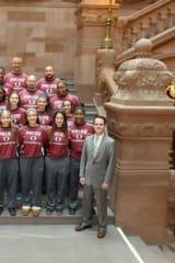 State Senate Recognizes Ossining Women's Basketball Team
